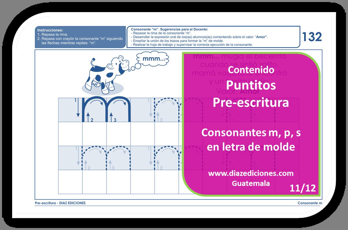 Puntitos Pre-escritura DIAZ EDICIONES
