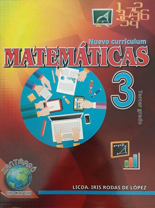 Matemáticas 3 – 2016