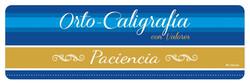 Orto-Caligrafia con Valores DIAZ EDICIONES