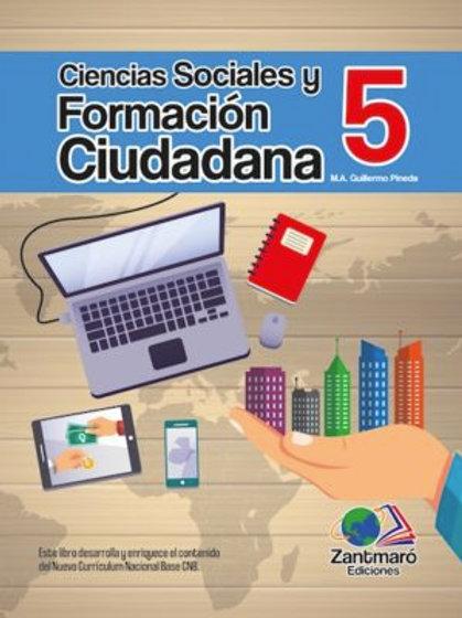 Ciencias Sociales y Formación Ciudadana 5 - 2016