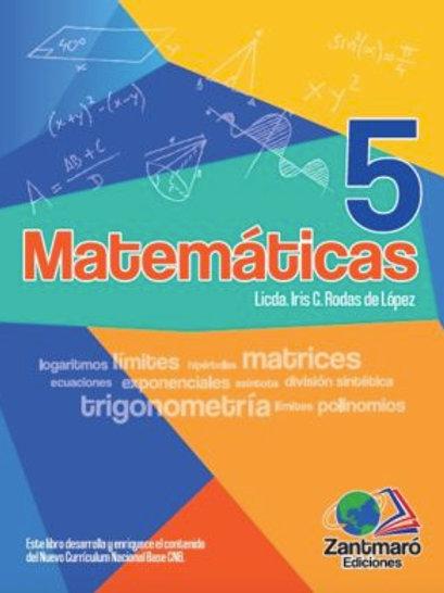 Matemática 5 - 2020