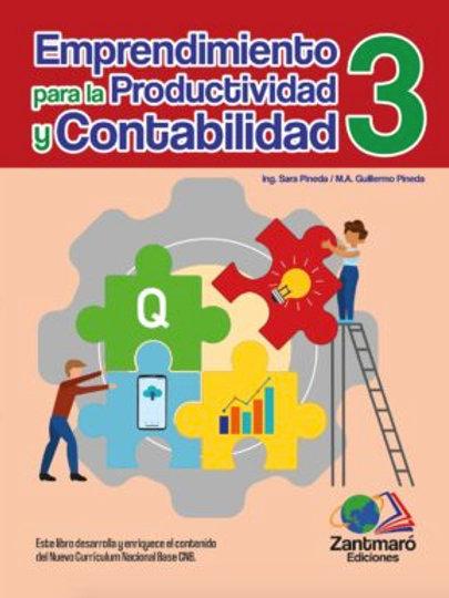 Emprendimiento para la Productividad y Contabilidad  3 - 2021