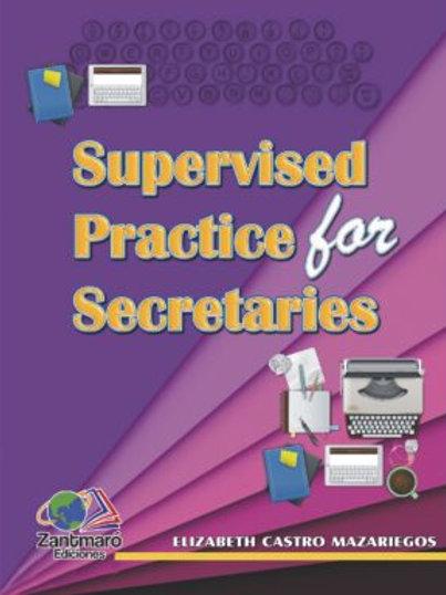 Supervised Practice for Secretaries - 2018