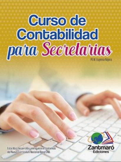 Curso de Contabilidad para Secretarias - 2021