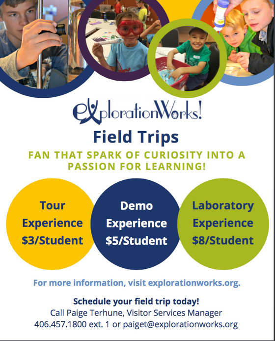 Exploration Works! Field Trip Information