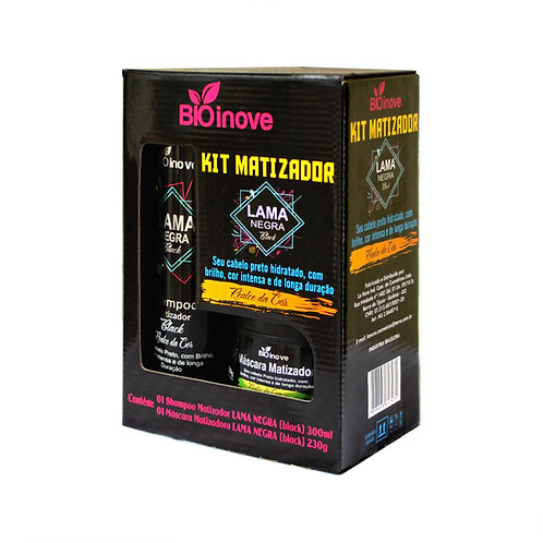 Kit Matizador Lama Negra