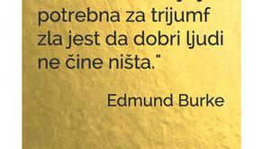 Citat tjedna - Edmund Burke