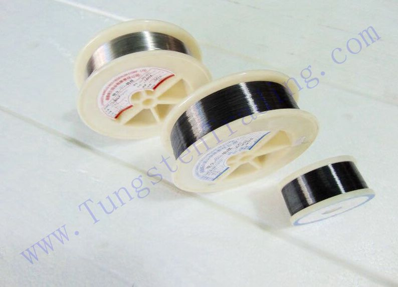 Fine tungsten wires