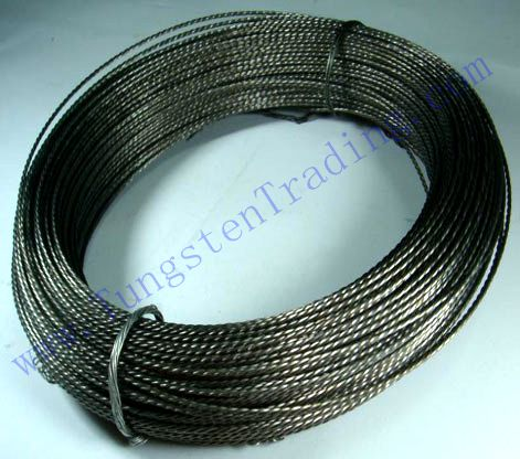 Twisted/Stranded tungsten wire