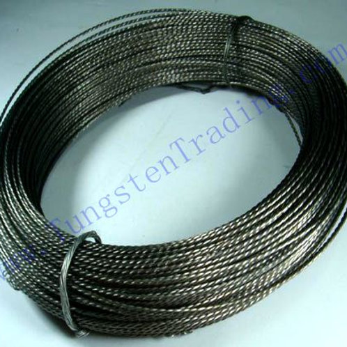 Stranded/Twisted Tungsten Wire 0.8mm*3 Cleaned