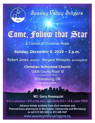 SVS Christmas Concert 2019 Poster_FINAL.