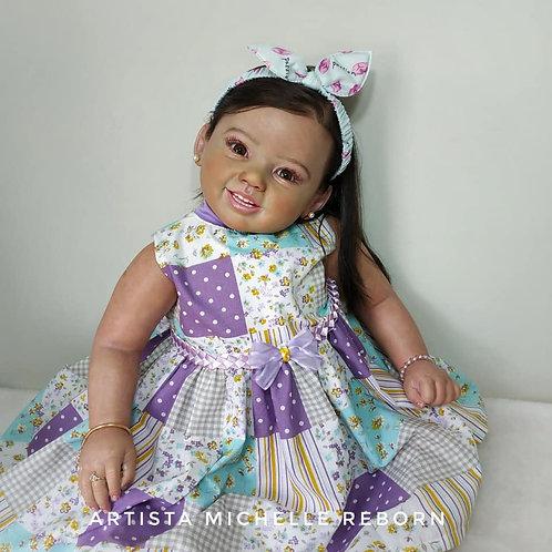 Bebê Reborn Realborn Menina Coralina Toddler