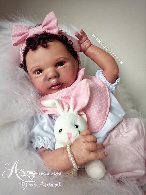 Boneca Bebê Reborn Eloise 49 Cm E 1700 Kg Sid Nyl Kit Eloise