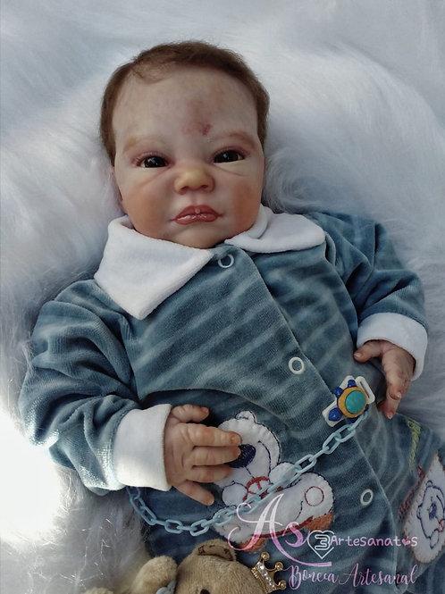 Bebe Reborn Menino Cauã 49cm Peso 1980kg