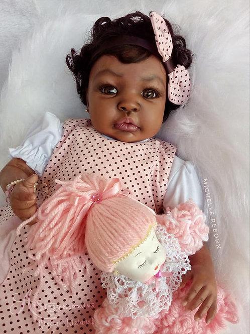 Bebê Reborn Timares Corpo Em Tecido Menina