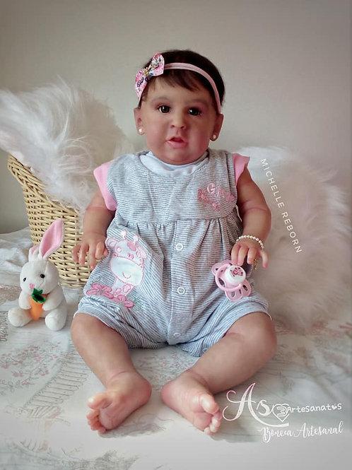 Bebe Reborn Menina Leia 3264kg e 56cm