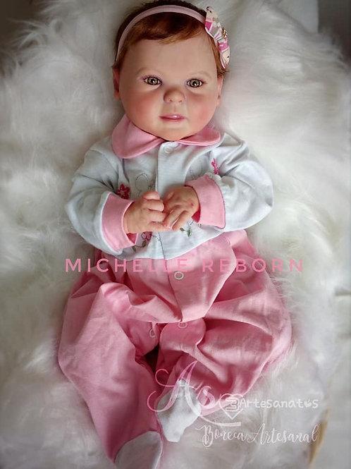 Bebê Reborn Menina Diandra Corpo Tecido 1780kg 47cm Sid nyl Diandra