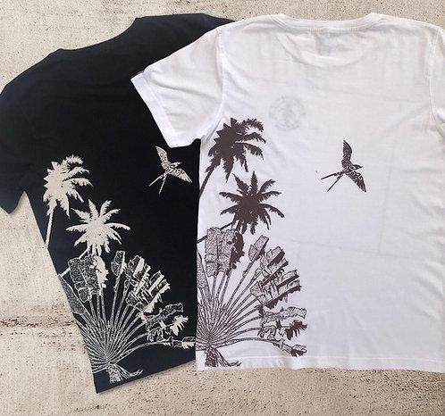 Tee shirt Bio /Sunset bird