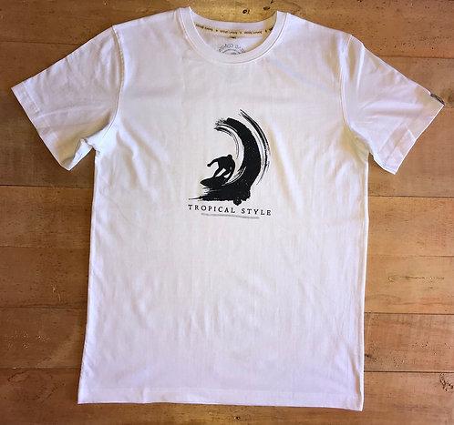 Tee shirt Bio / Surf wave G047
