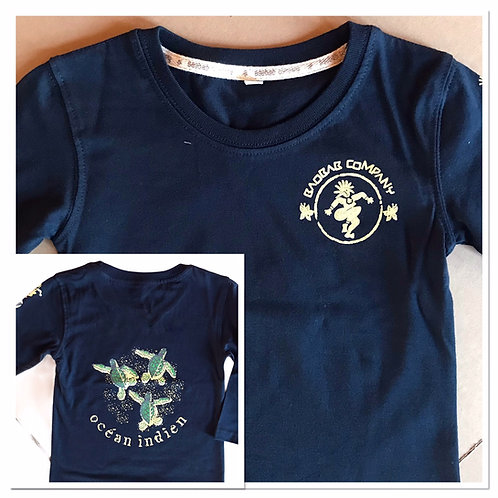 Tee shirt MLongues Bio /3 Tortues