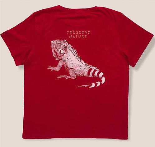 Tee shirt Bio / Iguane