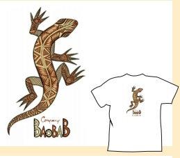 Tee shirt Bio / Lezard Maori