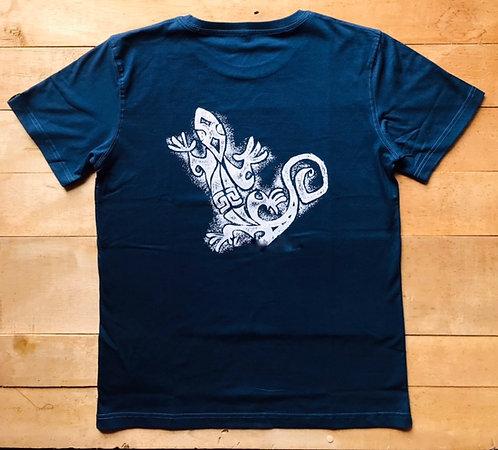 Tee shirt bio / Lezard tatoo