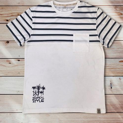 Tee shirt bio / Mariniere BAJ117