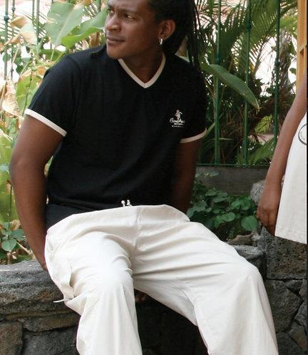 Tee shirt bio Col V (BAJ104)