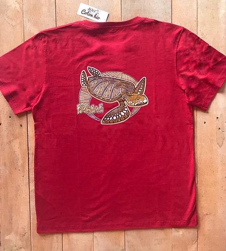 Tee shirt Bio / Tortue Maori