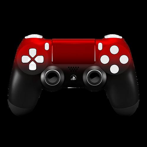 Manette PS4 custom Red Degrade