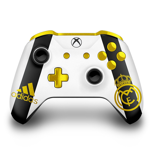 Manette Xbox custom Real Madrid par ESCONTROLLERS