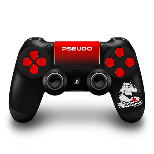 Manette PS4 custom TFCS (The French Commando Squad) par ESCONTROLLERS