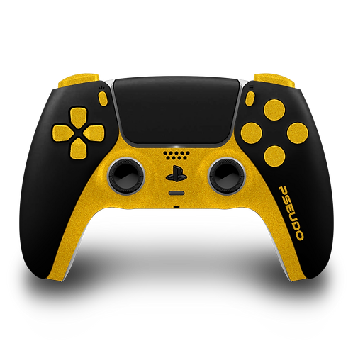 Manette PS5 custom Gold 2
