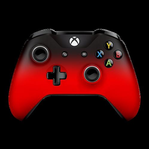 Manette Xbox One custom Red Degrade