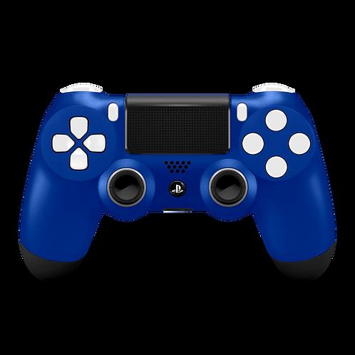 Manette PS4 custom Royal Blue