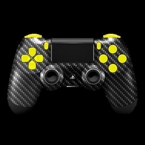 Manette PS4 custom Carbon par ESCONTROLLERS