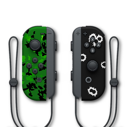 Manettes Switch custom Call Of Duty par ESCONTROLLERS