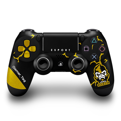 Manette PS4 custom Eclezya Esport par ESCONTROLLERS