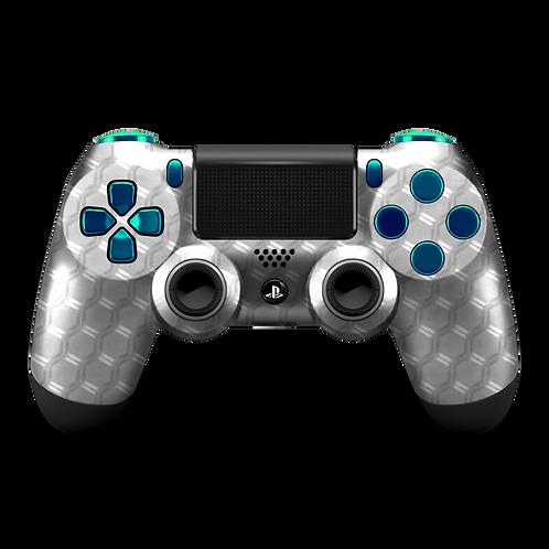 Manette PS4 custom Metal HX par ESCONTROLLERS