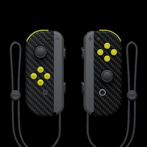 Manettes Switch custom Carbon par ESCONTROLLERS