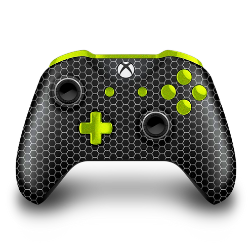 Manette Xbox custom Black Hexa par ESCONTROLLERS