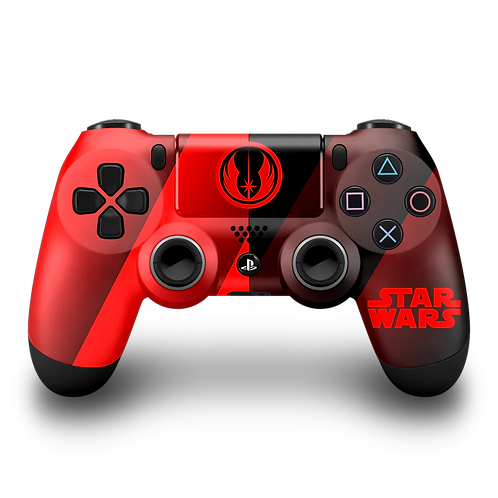 Manette PS4 custom Star Wars par ESCONTROLLERS