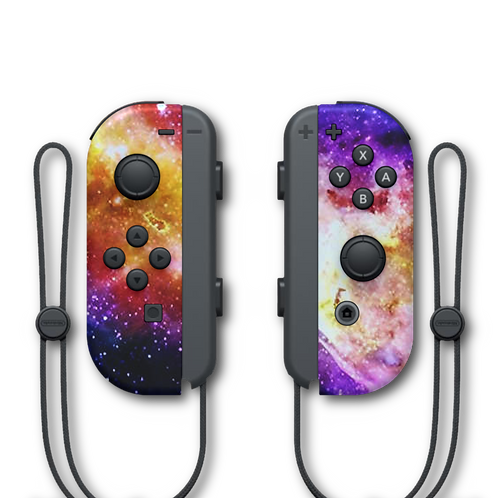 Manettes Switch custom Cosmos par ESCONTROLLERS