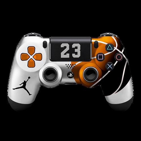 Manette PS4 custom Mickael Jordan NBA par ESCONTROLLERS