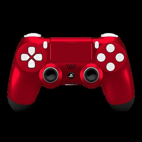 Manette PS4 custom Rubis par ESCONTROLLERS