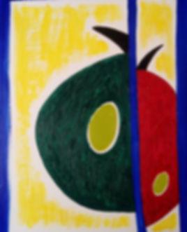 """Картина маслом """"Дни и ночи Анжелики"""" Yulianna Osi. Приукрасит современный интерьер дома и офиса. Рисунок в силе абстракция. Отличный подарок. Эксклюзив."""