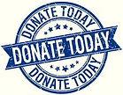 donate-today-grunge-retro-blue-isolated-