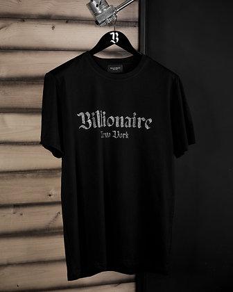 Billionaire Crystal Logo Shirt