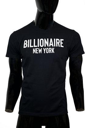 Billionaire Reflective Logo- Black
